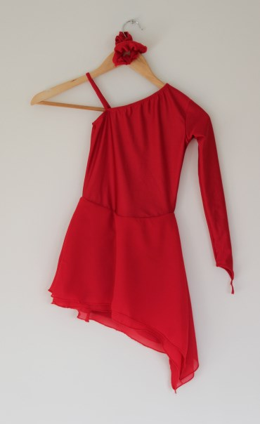kunstløp kjole