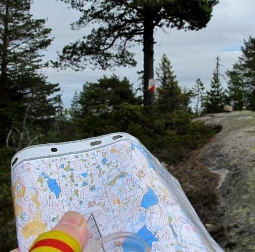 Kart og kompass - (bildet er hentet fra orientering.no)