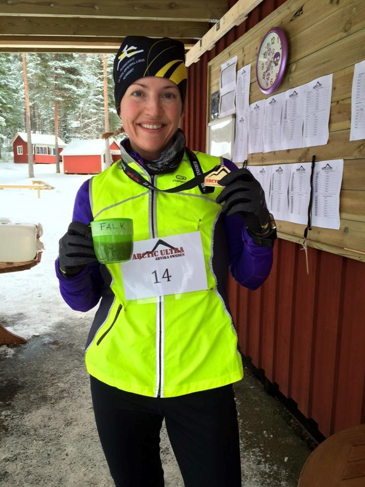 Therese Falk nummer 2 i Arctic Ultra
