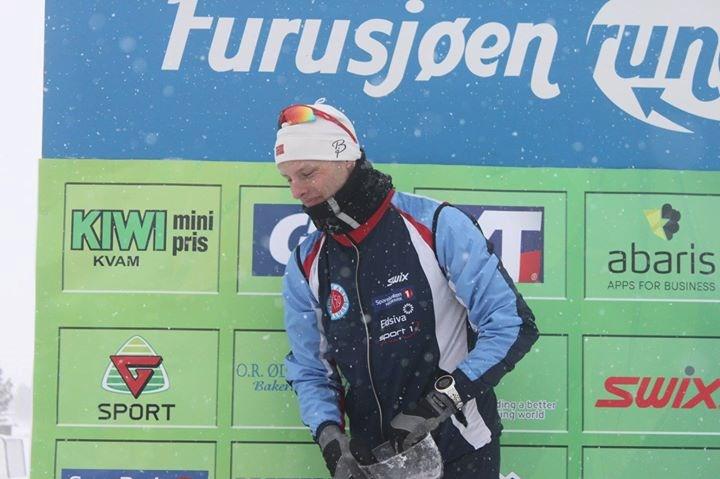 Klassevinner M30: Andreas Almlid, Hamar Skiklubb (arrangørfoto).