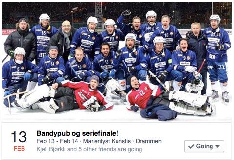 Bandyfest og Seriefinale