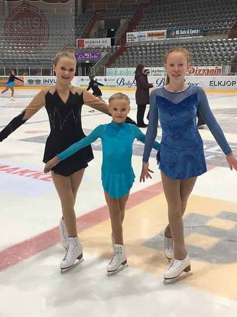 Jentene på isen Hamar 2