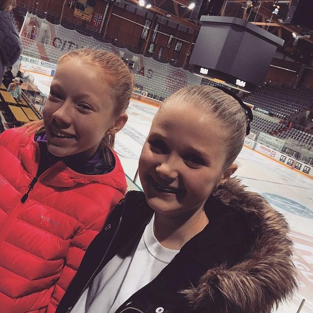 Anna Birgitte og Andrea