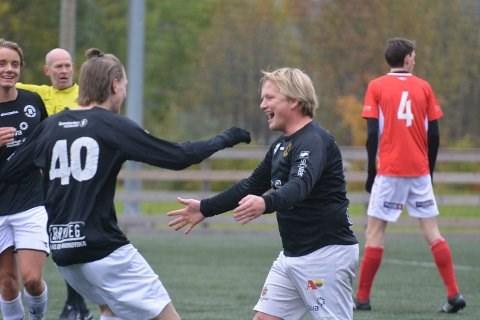 Lars Chrisoffersen var toneangivende på kanten for hjemmelaget. Han mener det er fullt fortjent at klubben rykker ned etter årets sesong.