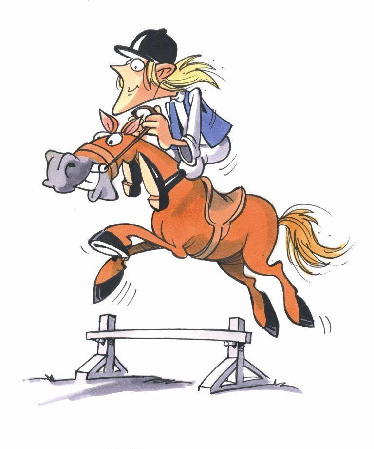 Bilderesultat for sprang hest