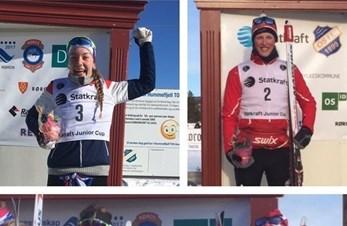 Flere NM-medaljer til Bjerke skiskyting sin juniorløpere