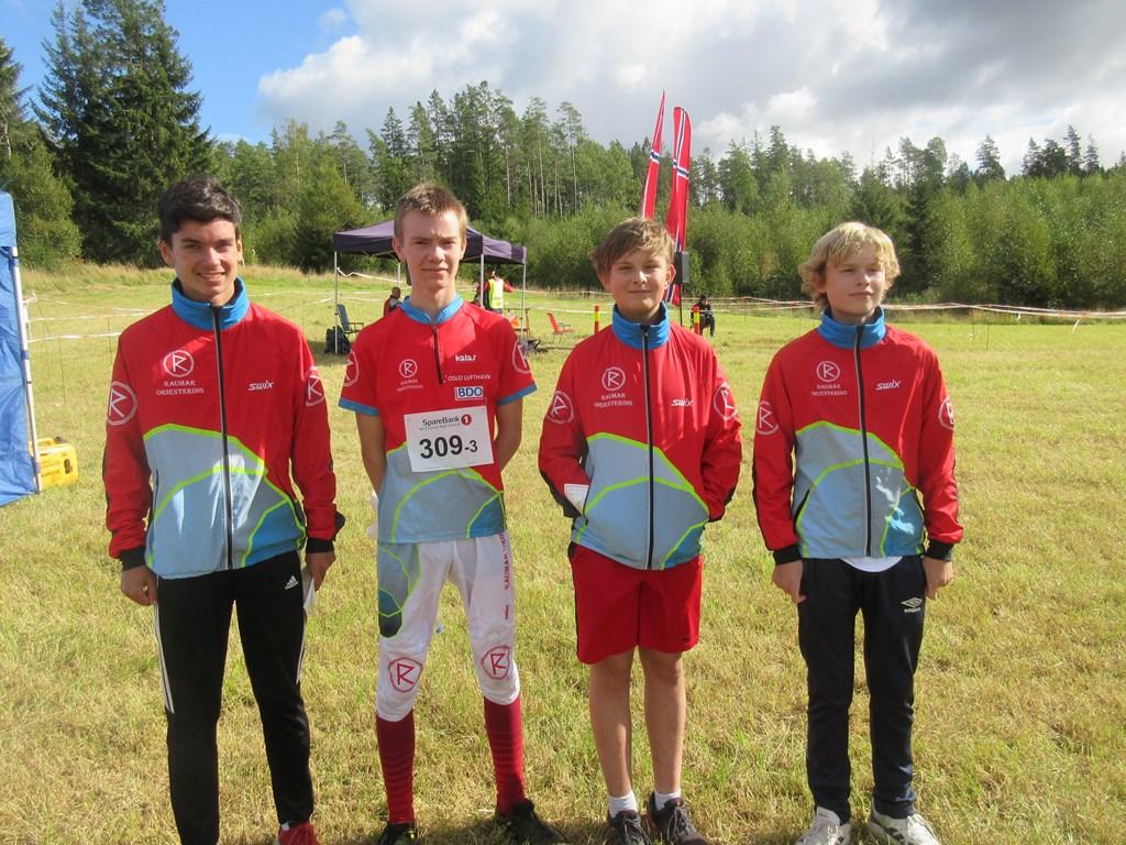 Kevin, Gjermund, Even og Erik