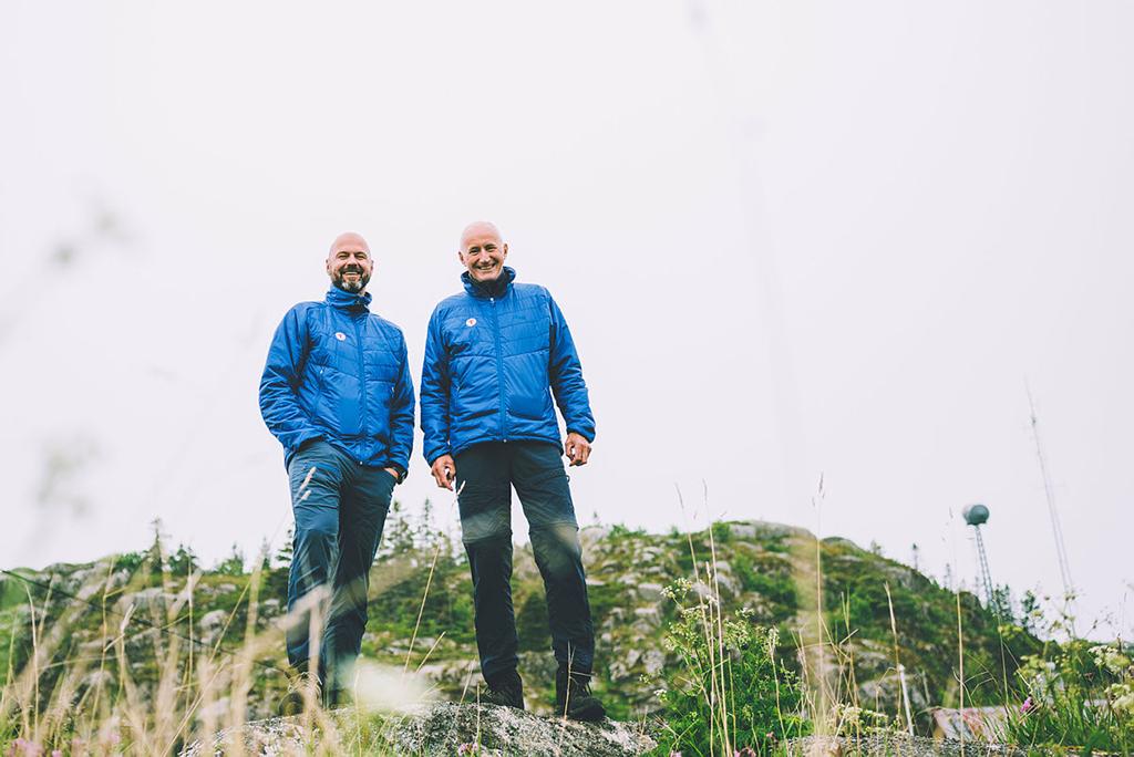 Generalsekretær Dag Terje Solvang og styreleder Per Hanasand