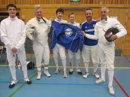Oslo Fekteklub av 1906: OFs veteranlag og ungdomslaget under Blindern Cup  13.4.2013