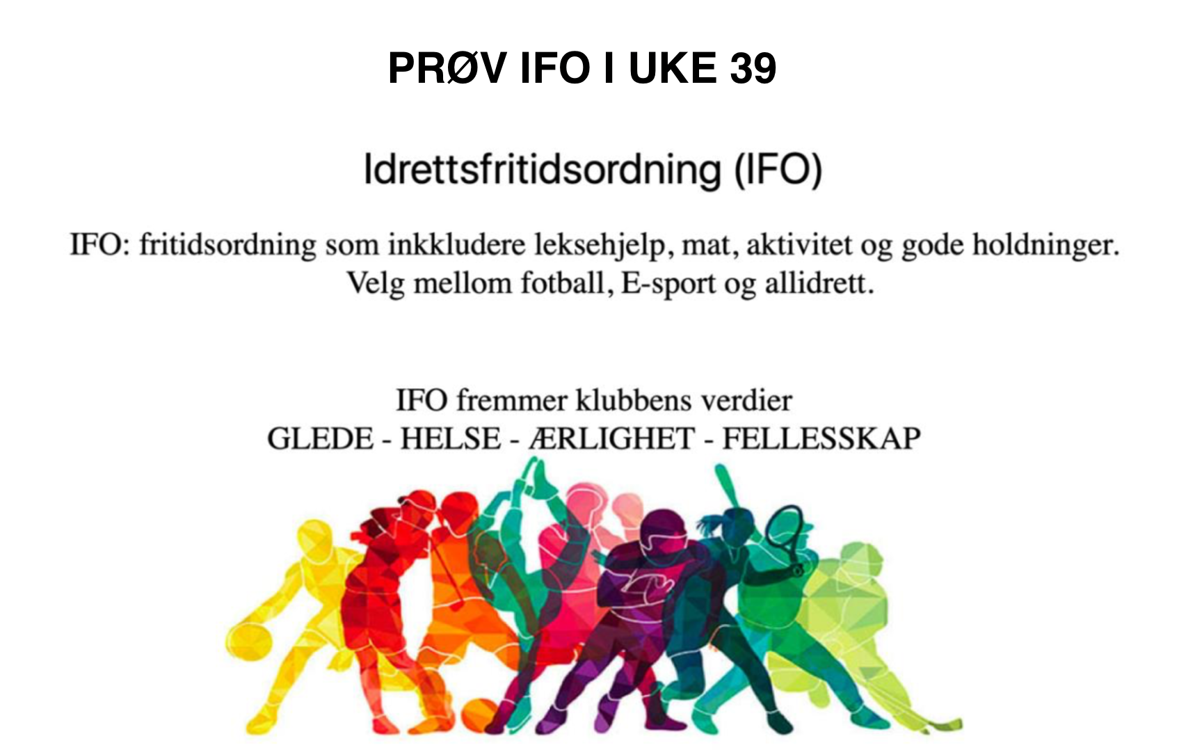 Online Dating profil för en man