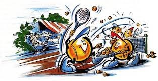 Bilderesultat for tennis bilder comic