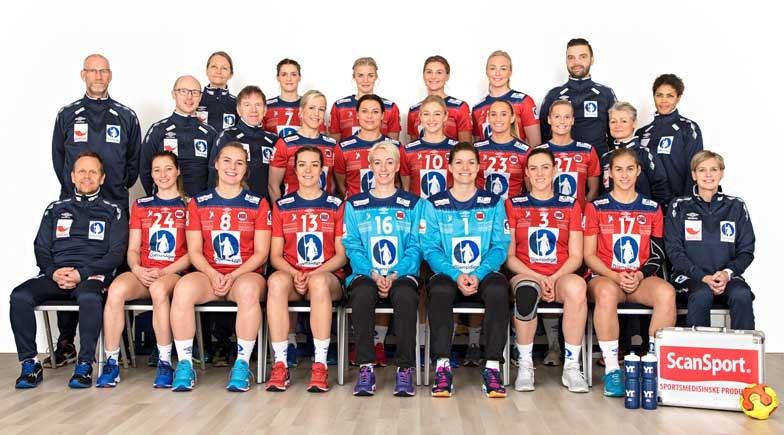 Bilderesultat for håndball landslaget kvinner