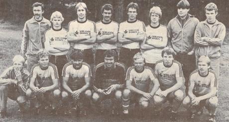 A-laget i 4. divisjon 1981