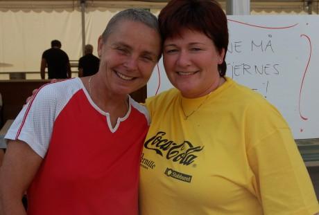 Lisbeth Ravneberget og Marit Haugjord