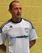 Svein Olav Ween i drakta til Derby County