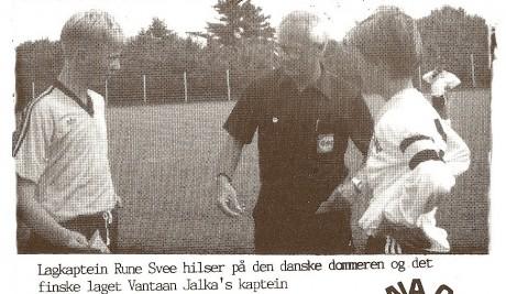 Rune Svee i  Dana Cup 1992