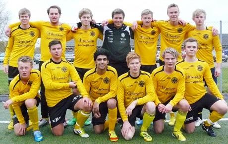 Gutter-19 på Jammerbugten Cup i Fjerritslev i Danmark.
