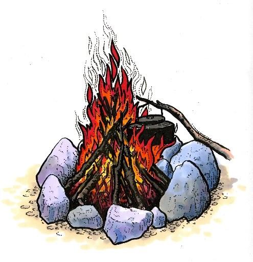 Bilderesultat for skogstur tegning