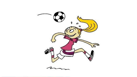 Lille Øisteins Blyant - 35 - Kvinnelig fotballspiller