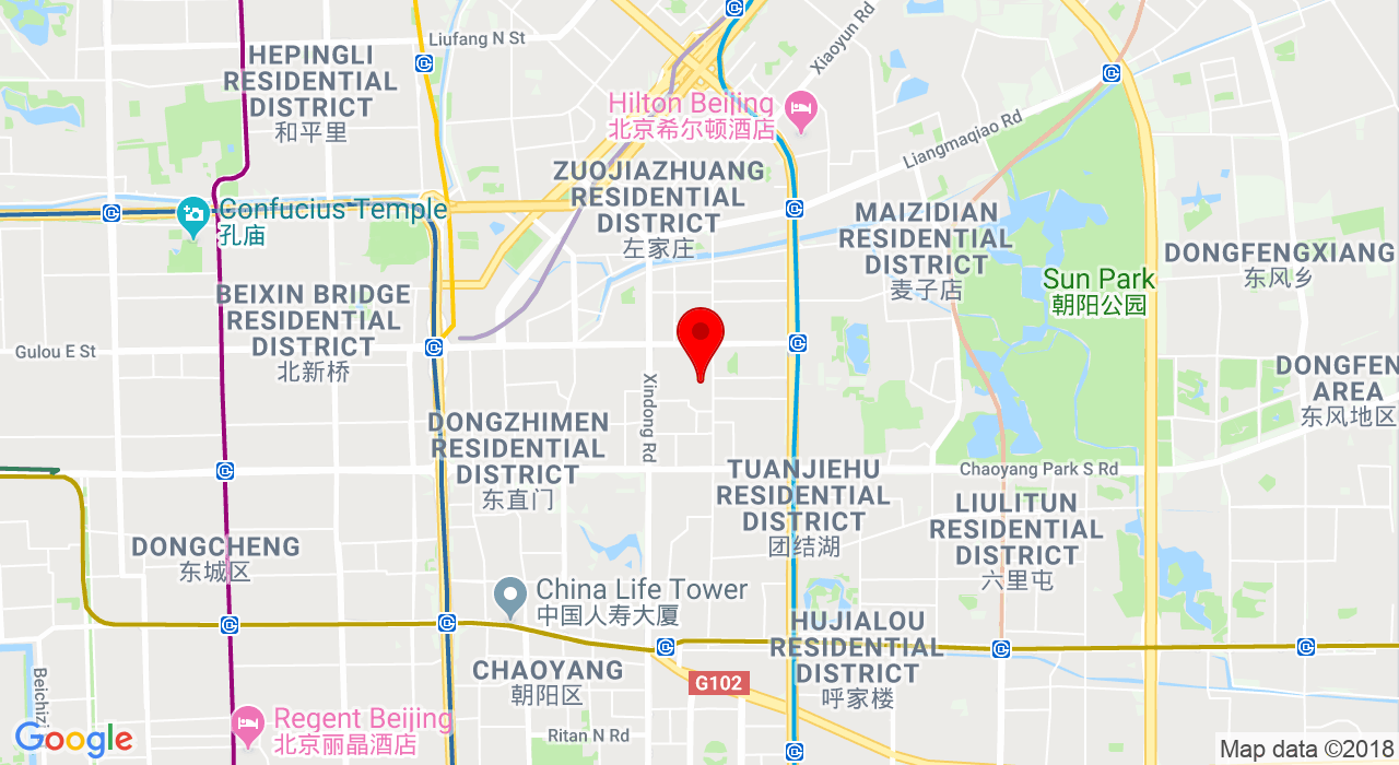 Unit 1-30 on 3rd floor of tower S1.No.19 Sanlitun Road, Chaoyang District,Beijing,