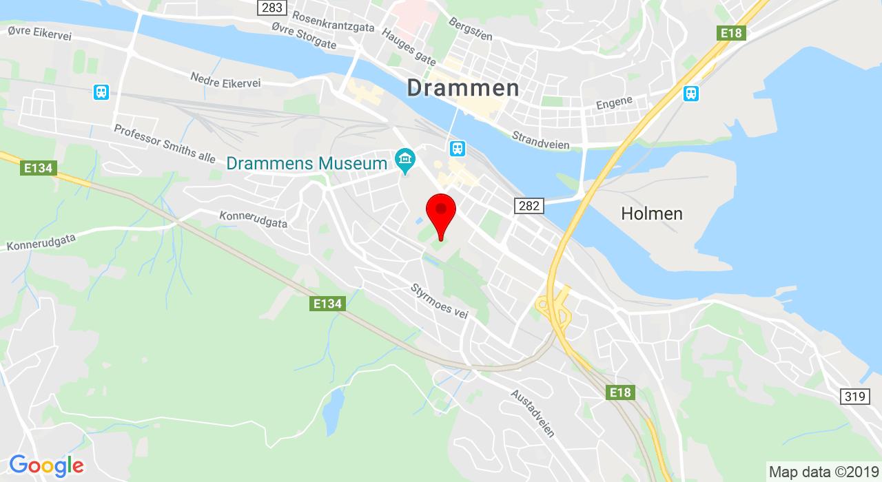 Friidrettsbanen på Marienlyst, 3043 DRAMMEN