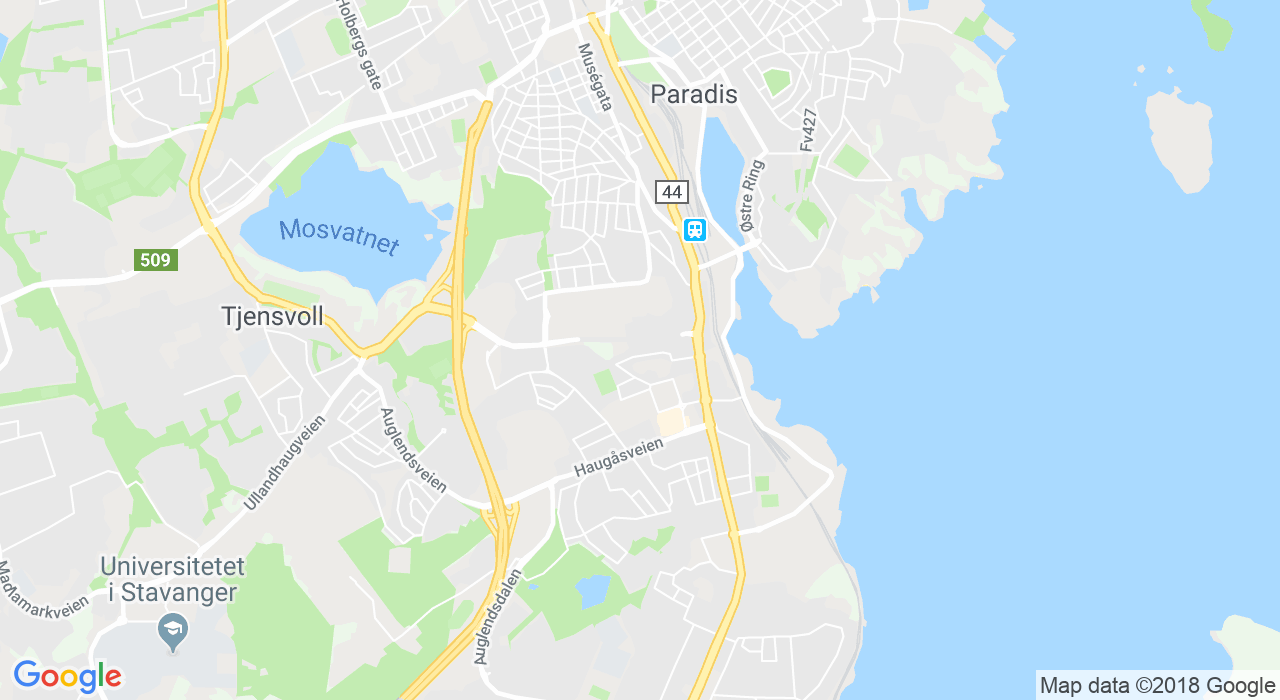 Stavanger og Sola,