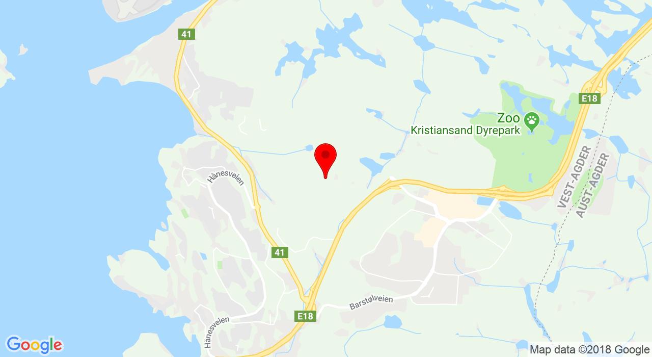 Lauvåsen, 4656 HAMRESANDEN