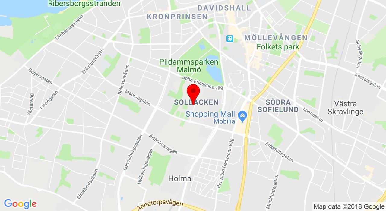 Atleticum, Eric Perssons väg 5, Malmö,  Malmø