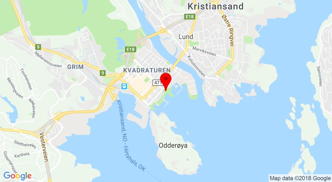 Tresse/Østre Strandgate 52, 4610 KRISTIANSAND S