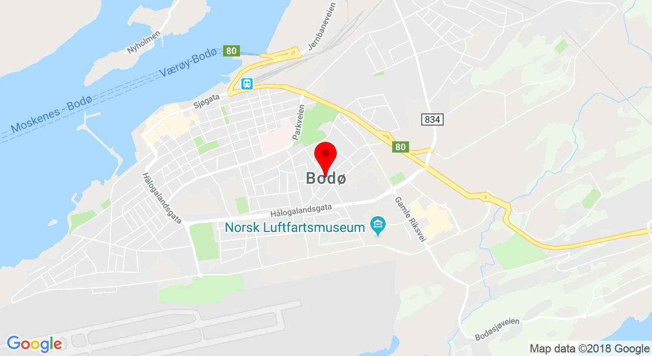 Bodø Friidrettsklubb, Postboks 255, 8001 BODØ