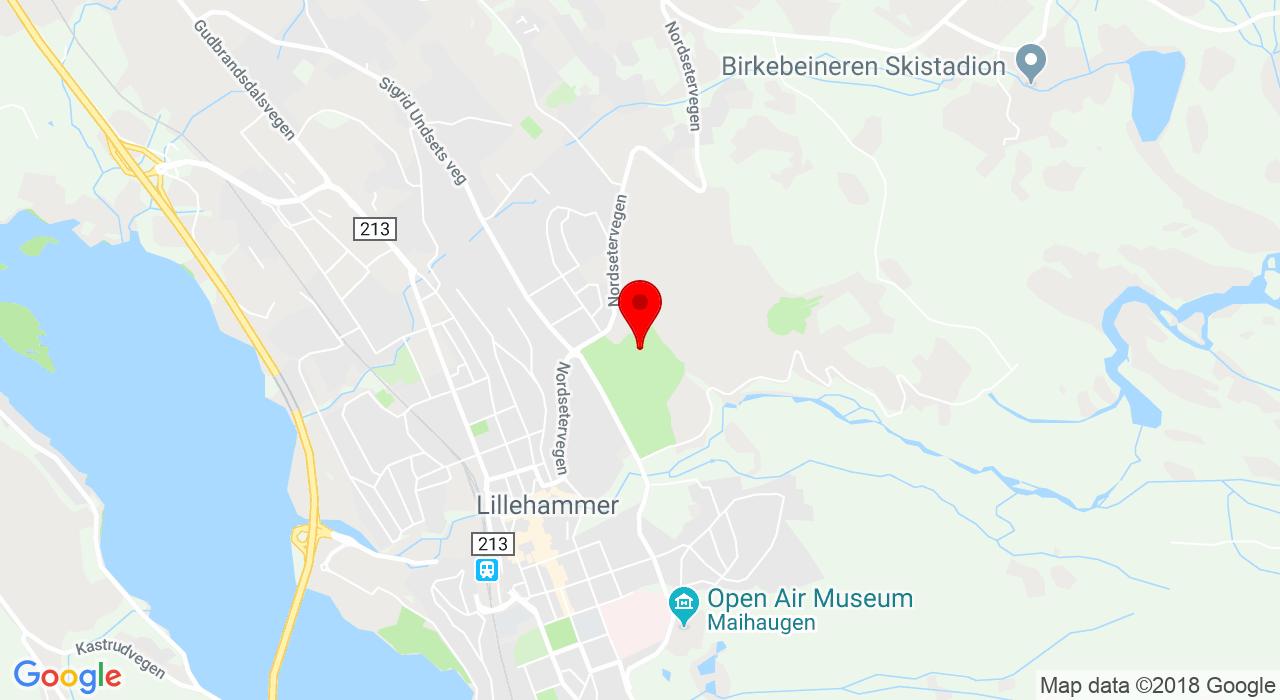 Nordsetervegen 45, Håkons hall, 2609 LILLEHAMMER
