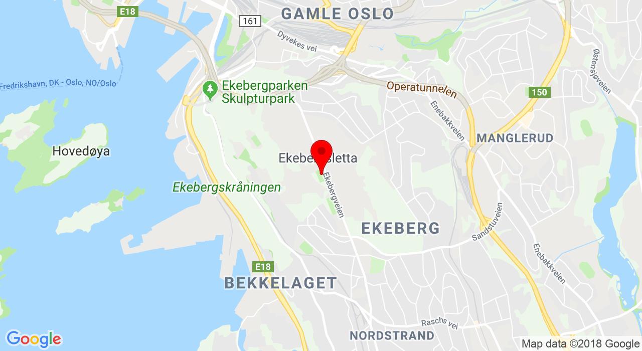 Ekebergveien 101, Ekebergveien 101, 1178 OSLO