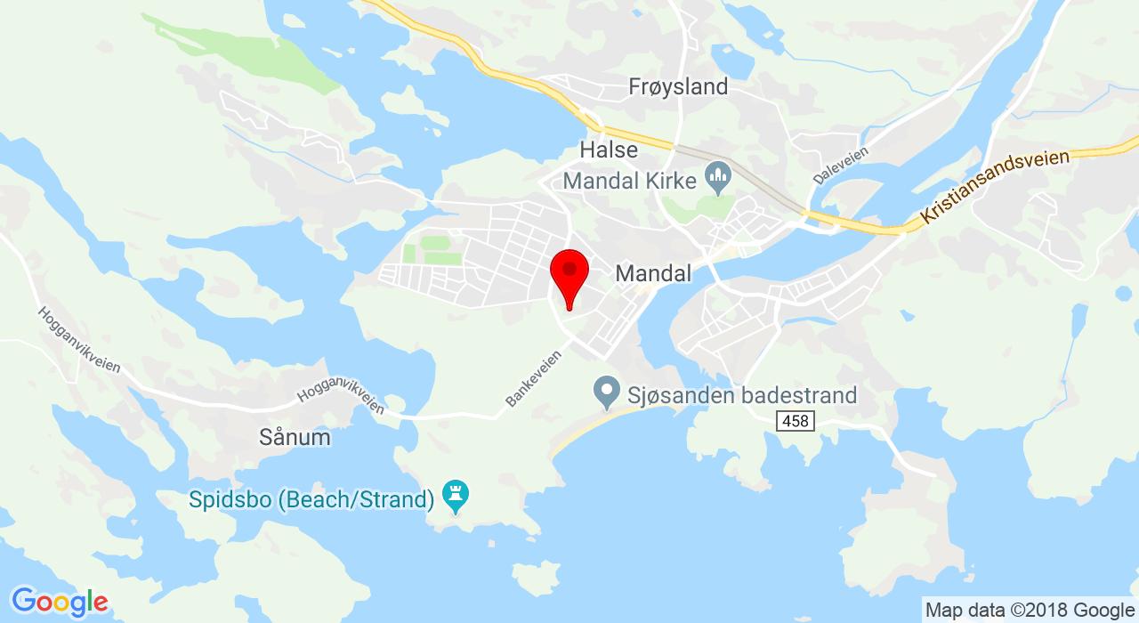 Fridtjof Nansens vei 13, 4514 MANDAL