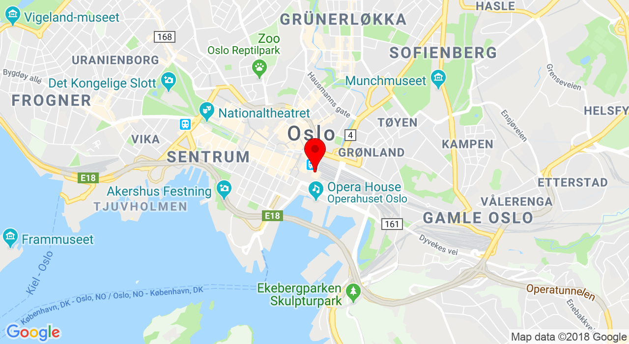 Jernbanetorget 1, Oslo S, 0154 OSLO