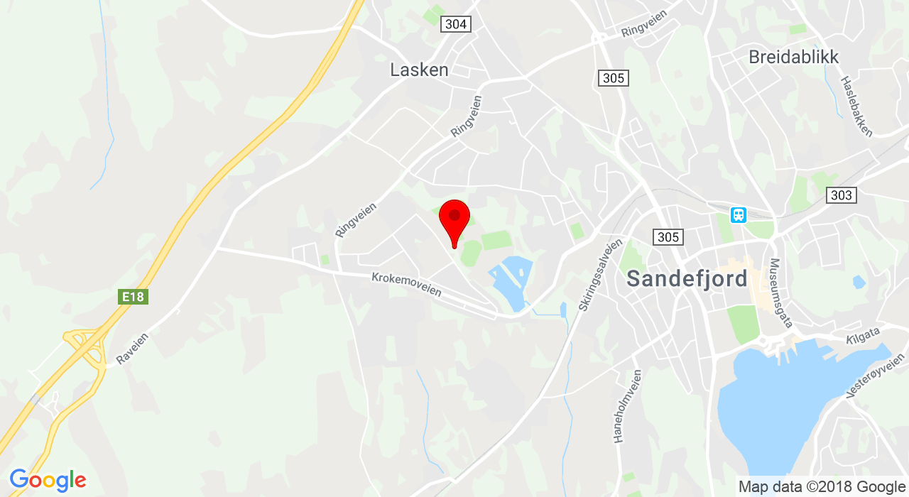 Bugårdshallen, Sportsveien, 3224 SANDEFJORD