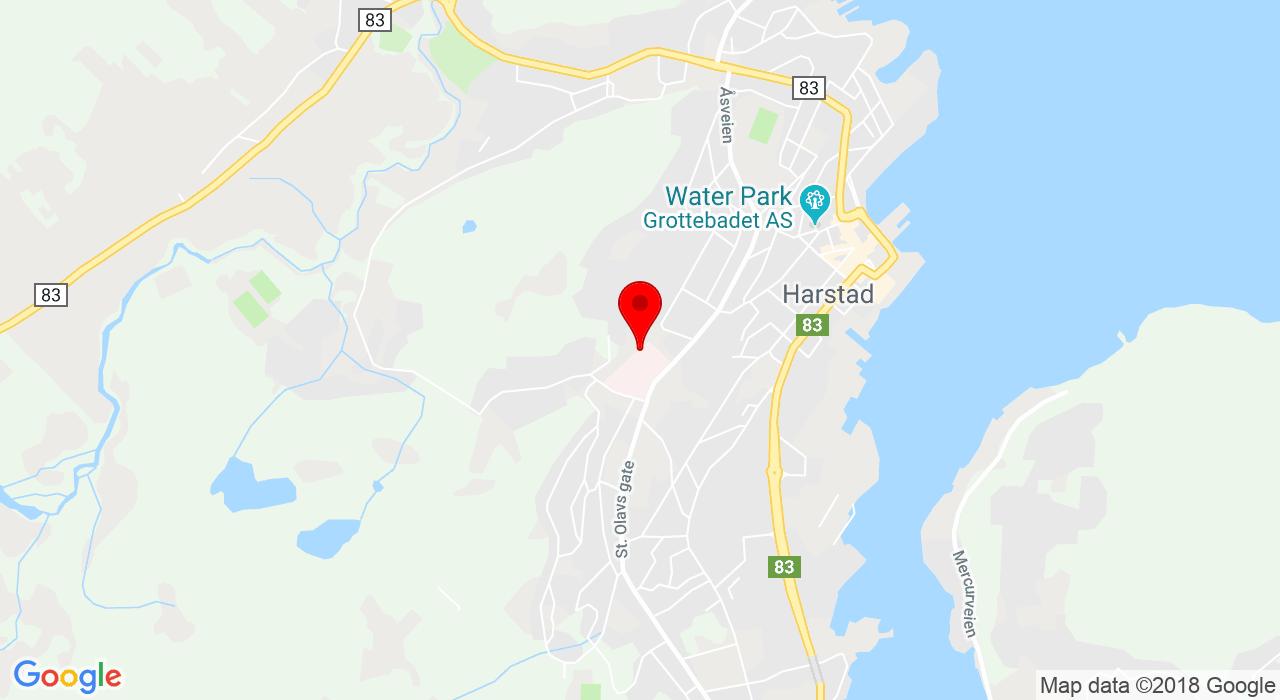Gymsal / psykiatrisk avdeling,  Harstad