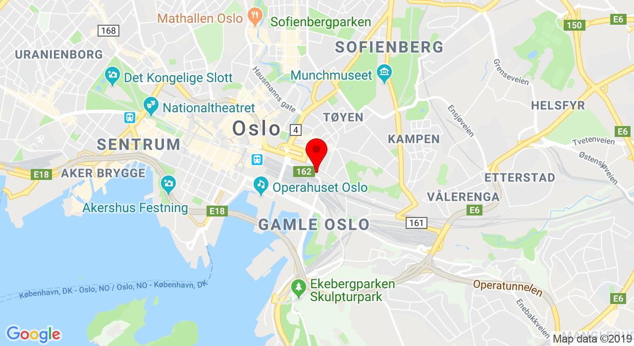 Schweigaardsgate 21, 0191 OSLO
