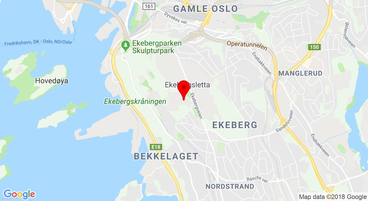 Idrettens hus Ekeberg - Ekebergveien 101, 1178 OSLO