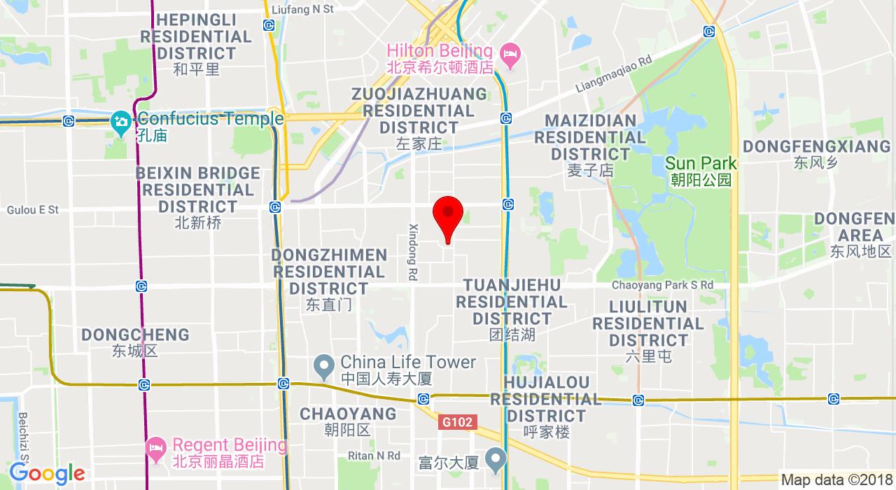 san li tun road 11, the opposite house LG,