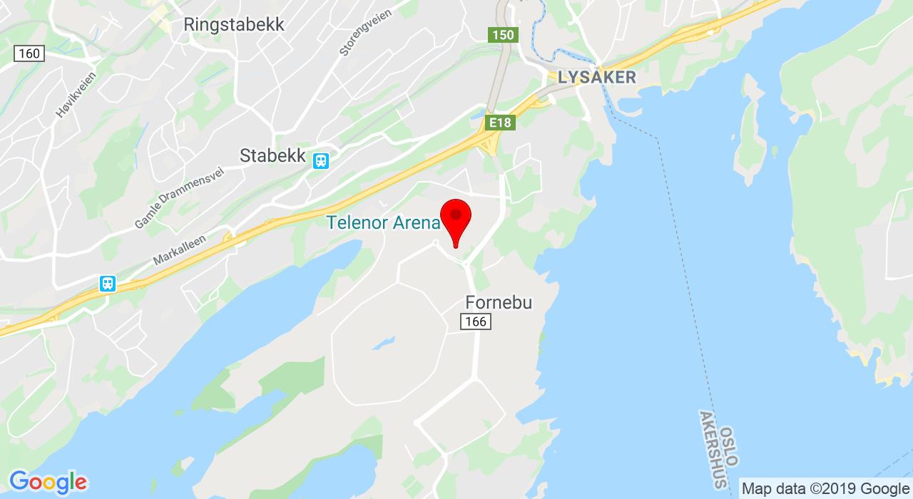 Widerøeveien 1, 1360 FORNEBU