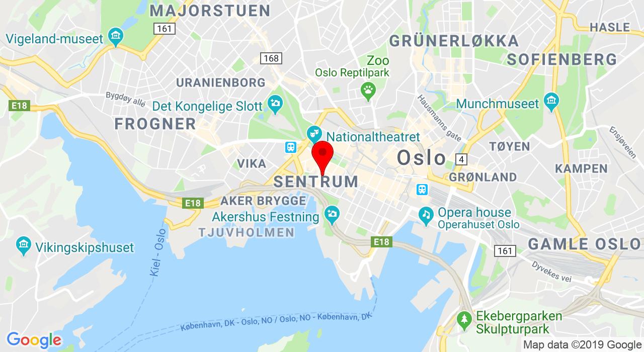 Uvvist Bar på Tordenskiolds gate 11, 0160 OSLO