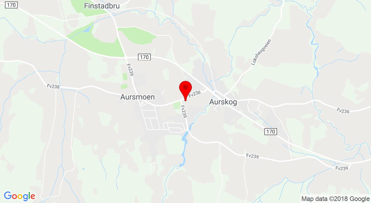 Aurveien, 1930 AURSKOG