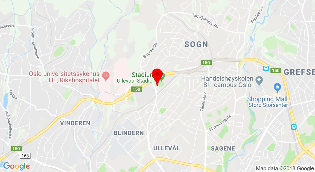 Sognsveien 75 A, 0840 OSLO