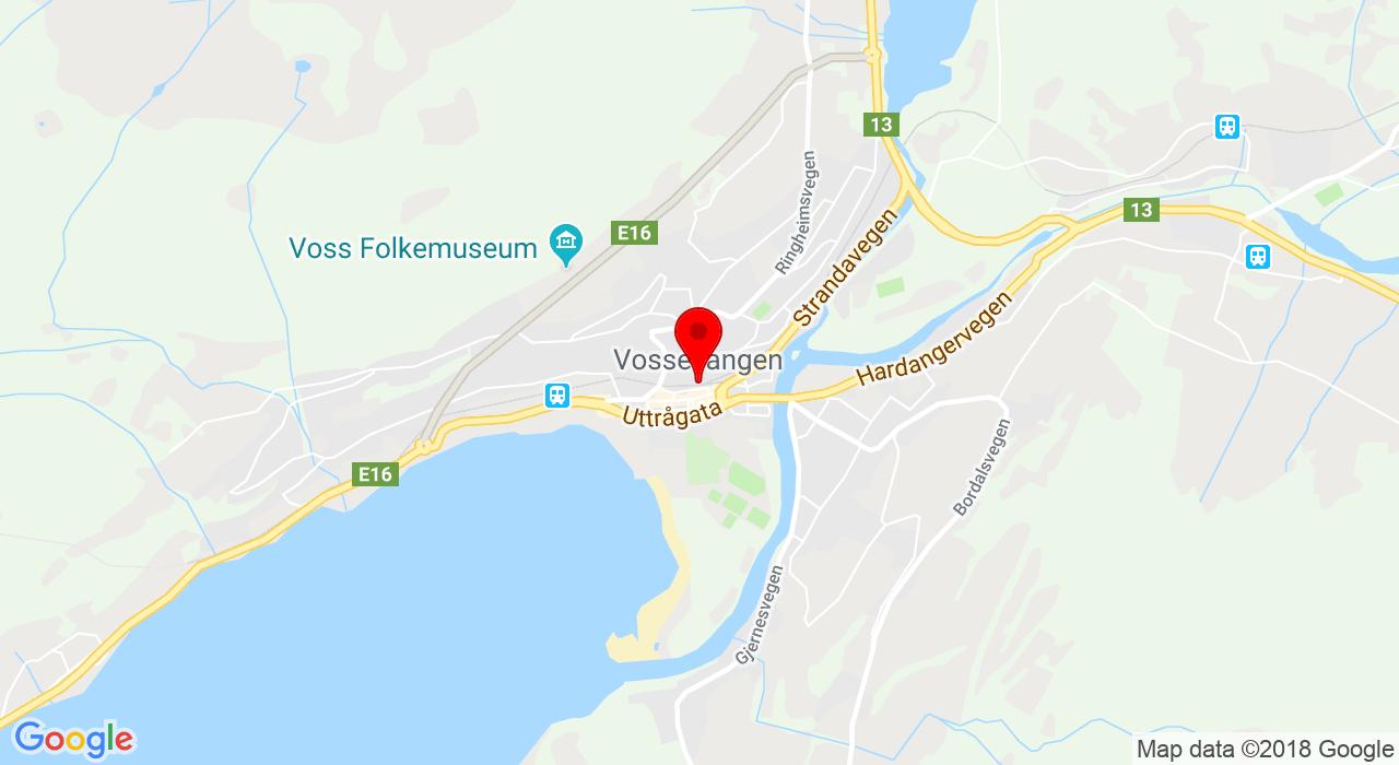 Vossevangen,  Vossevangen
