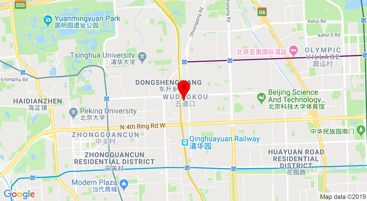 1/F, Wudaokou U-Center, 28 Chengfu Lu, Haidian District,