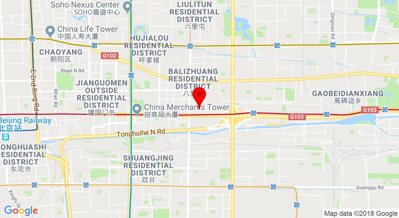 83 Jian Guo Road, China Central Place, Chaoyang District, Bejing 北京市朝阳区华贸中心建国路83号,