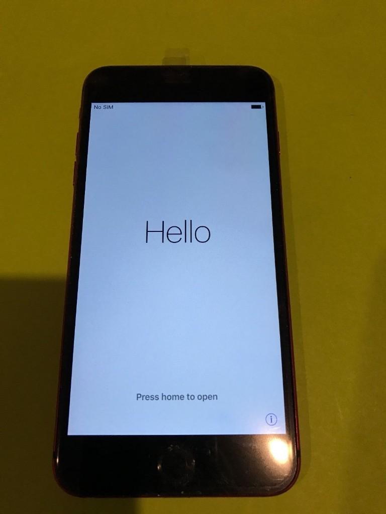 Iphone  Red Gb Unlocked