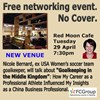 April 29: Free no Cover networking evening