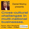 May 13 Training: Cross-cultural challenges in mult