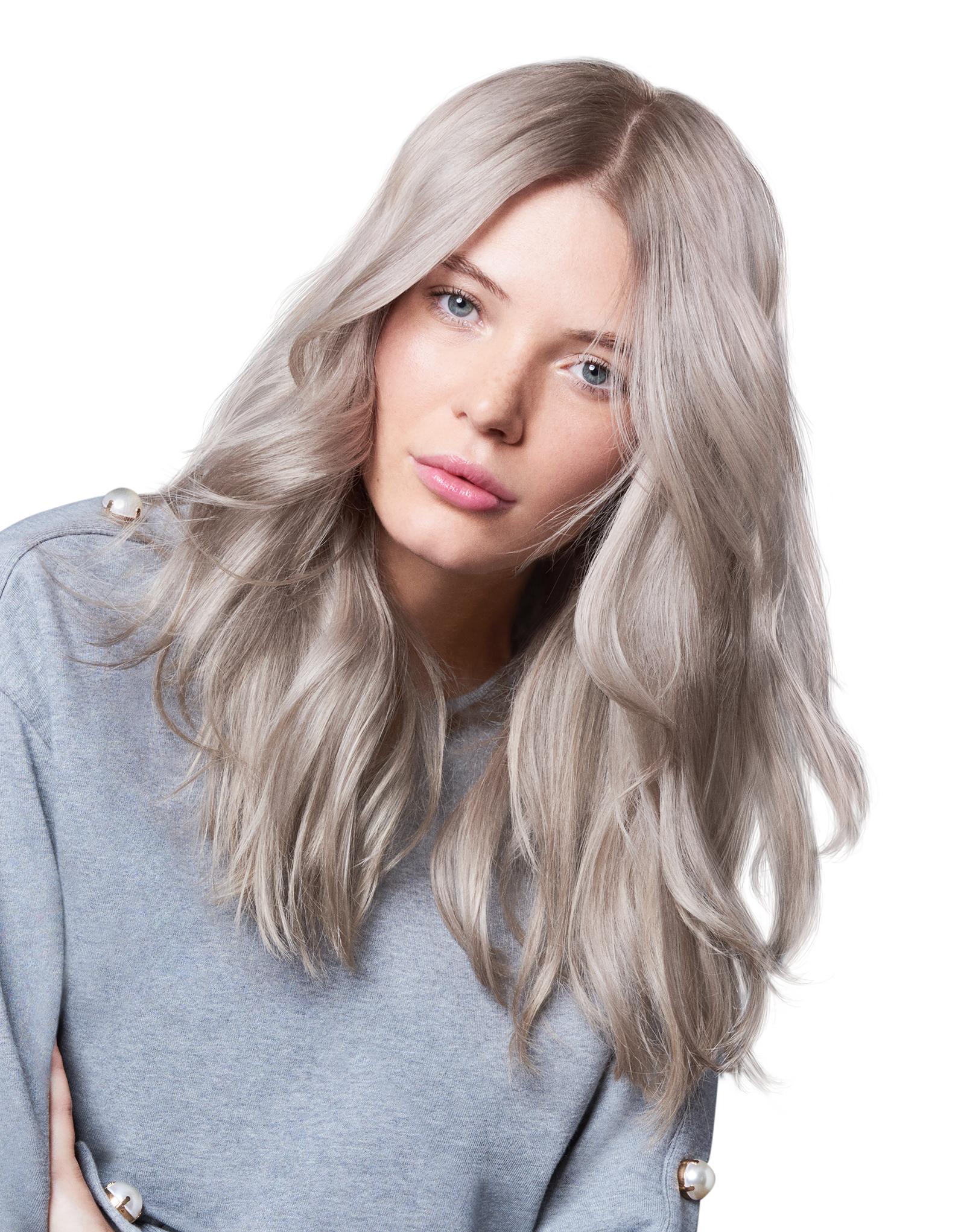lysne håret selv